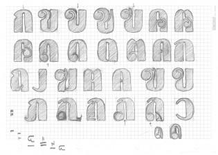 Blenny sketches