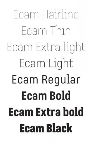 Ecam styles