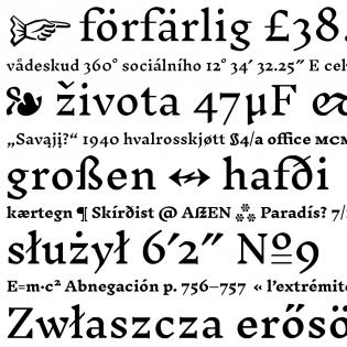 Inknut Antiqua fonts