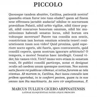 Parmigiano Piccolo