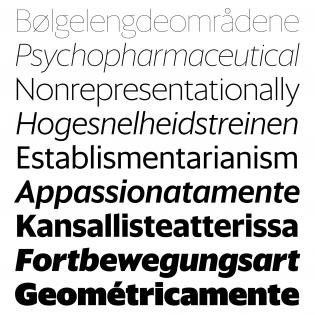 Sanomat Sans fonts