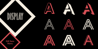 Gill Sans Nova Display styles