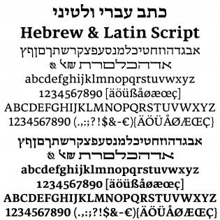 Hadassah glyphs
