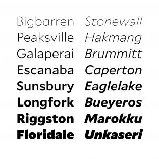 Mallory fonts