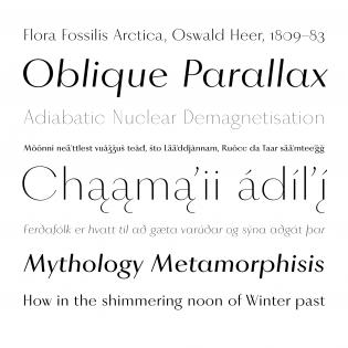 Vinter fonts