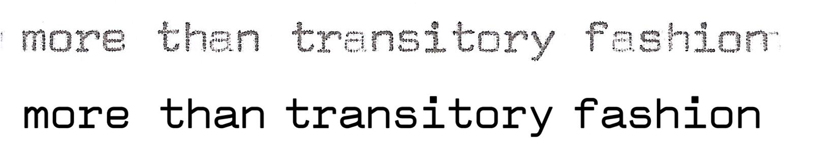 Comparison between Quadrato (Arturo Rolfo, 1963) and Valentine (Stephan Müller, 2002).
