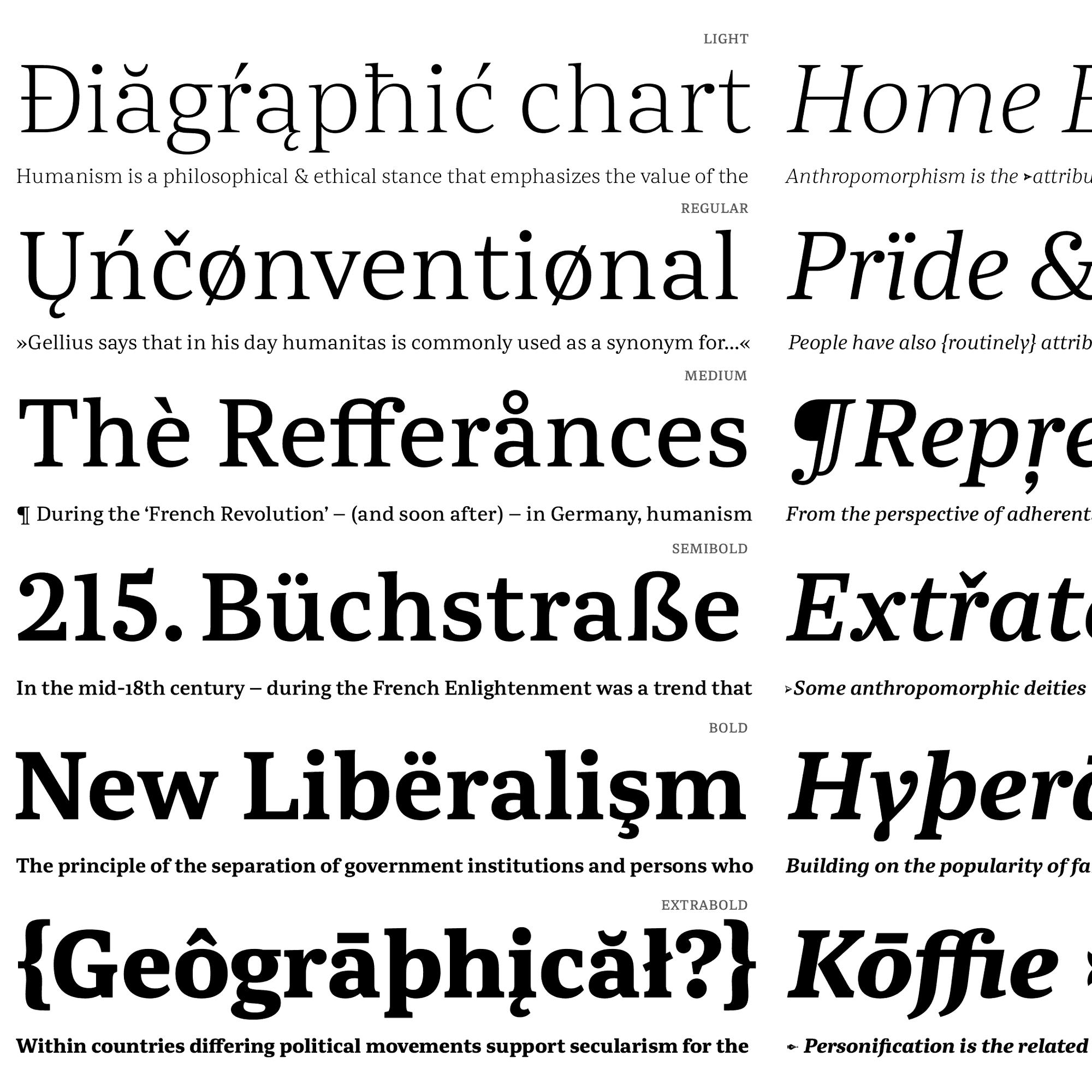 Abelard fonts