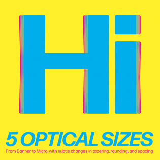 Forma DJR optical sizes