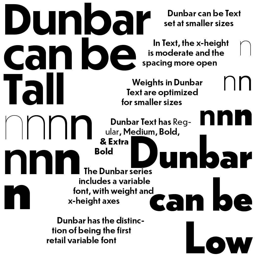 Dubar fonts