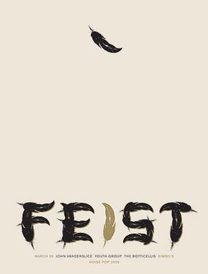 Feist Poster by Jason Munn