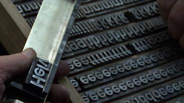 Helvetica Film Still