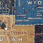 Paula Scher map painting