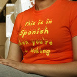 This is in Spanish When Your're Not Looking