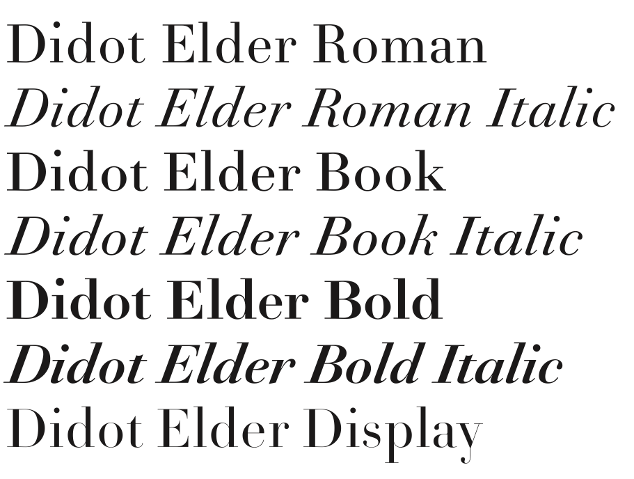 The Didot You Didn't Know – Typographica