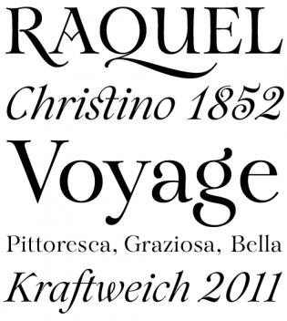 R Typography Typographica