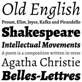 Alegreya ht – Typographica