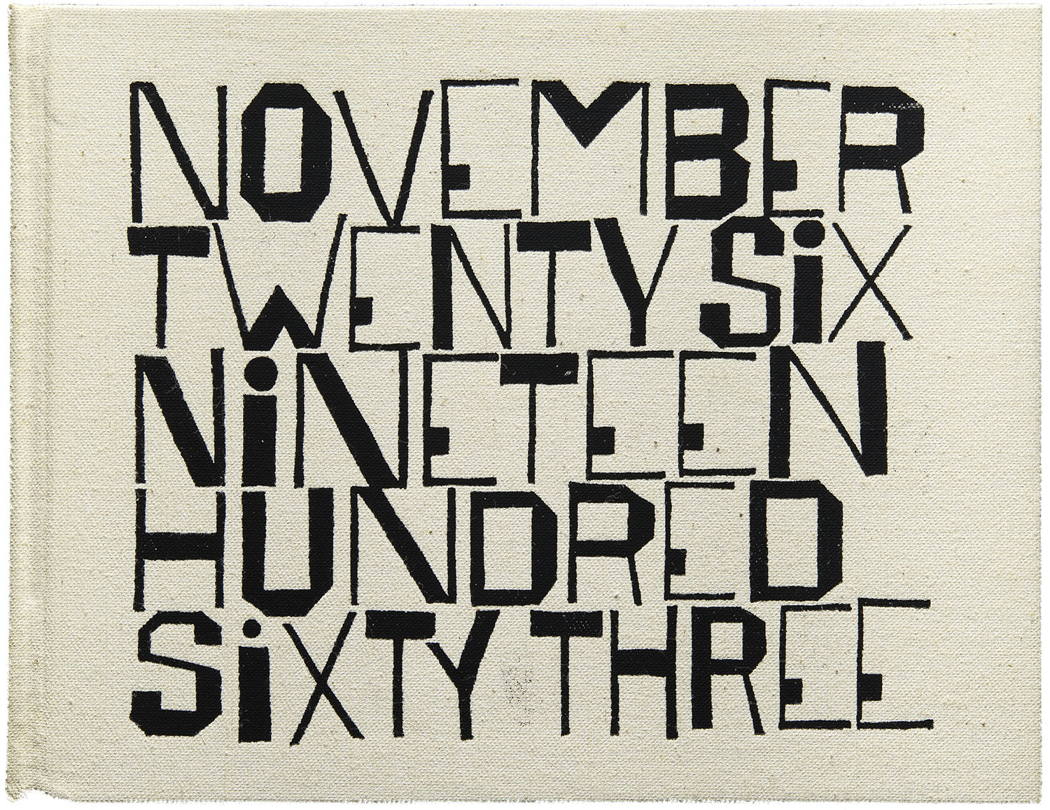 A 1964 book cover by Ben Shahn graces the month of October in the 2014 Letterform Archive Calendar.