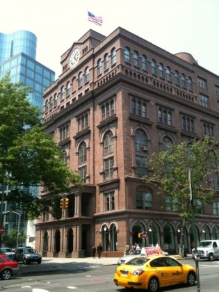 The historic Cooper Union Foundation Building in New York City.
