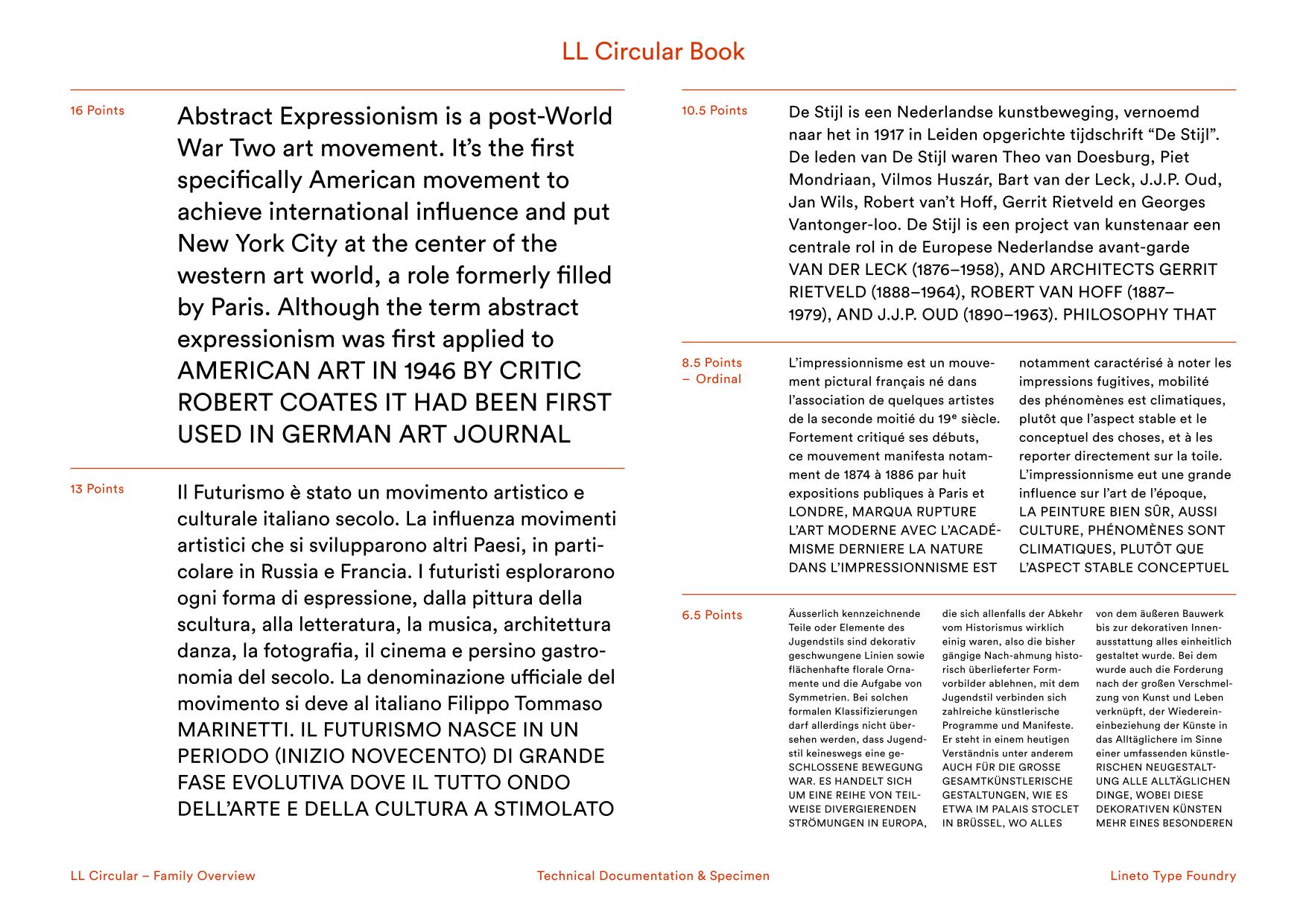 LL Circular – Typographica