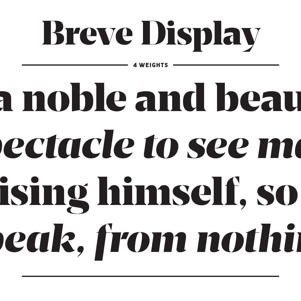 Breve – Typographica