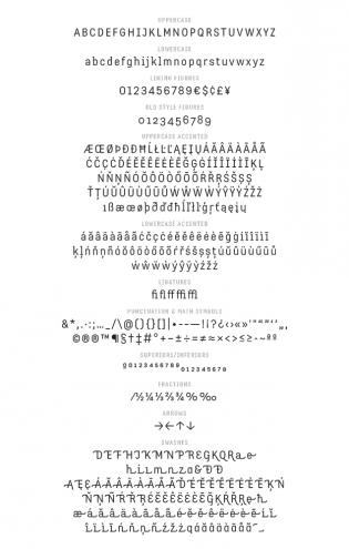 Ecam glyphs