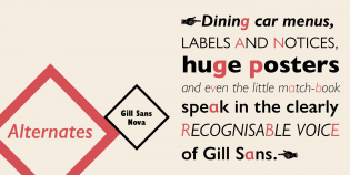 Gill Sans Nova
