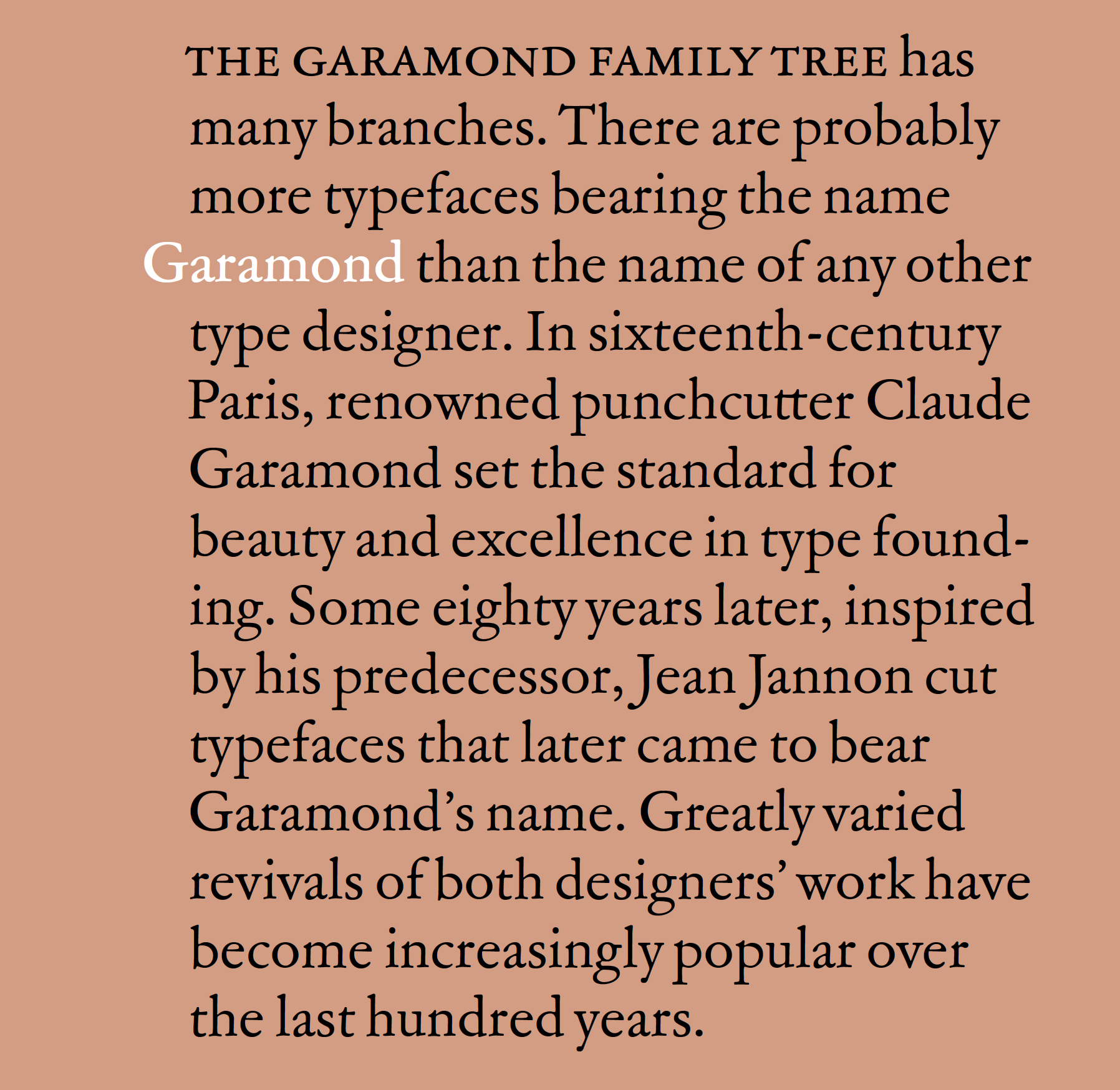ATF Garamond – Typographica