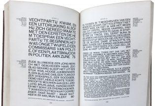 Breede Schreeflooze, Enschedé catalog, 1932