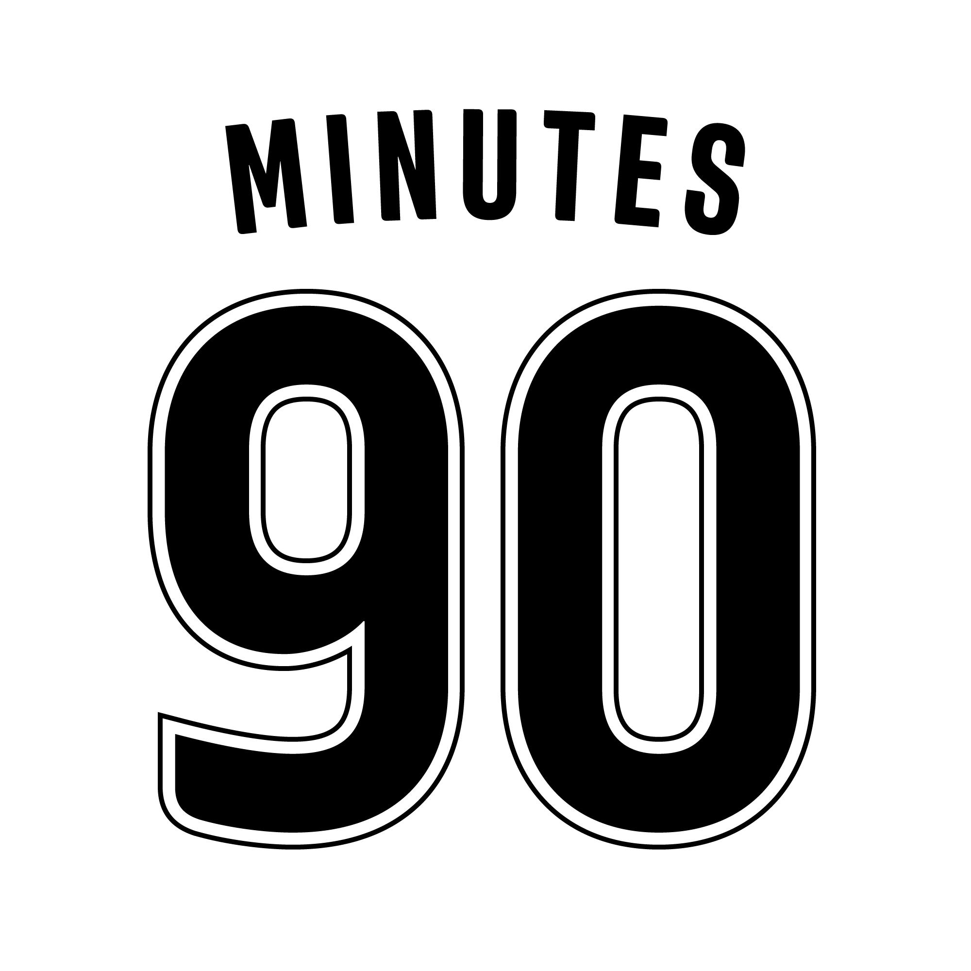 90 Minutes fonts