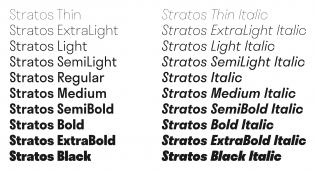 Stratos styles