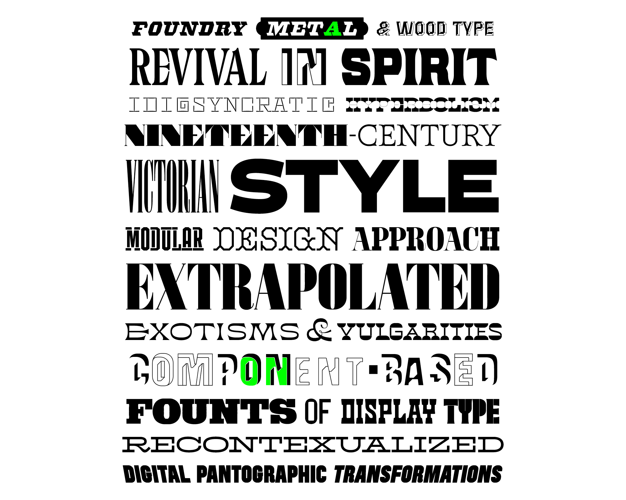 The Pyte Foundry – Typographica
