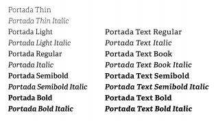 Portada and Portada Text