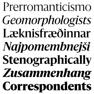 Sanomat fonts