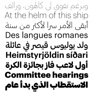 Graphik Arabic and Latin