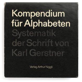 Kompendium für Alphabeten – Systematik der Schrift
