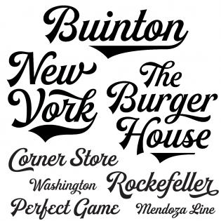 script typographica Intel Logo Font buinton