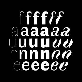 Faune fonts specimen