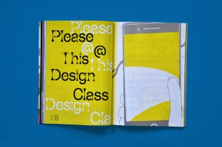 Phase fonts for Eye on Design Magazine