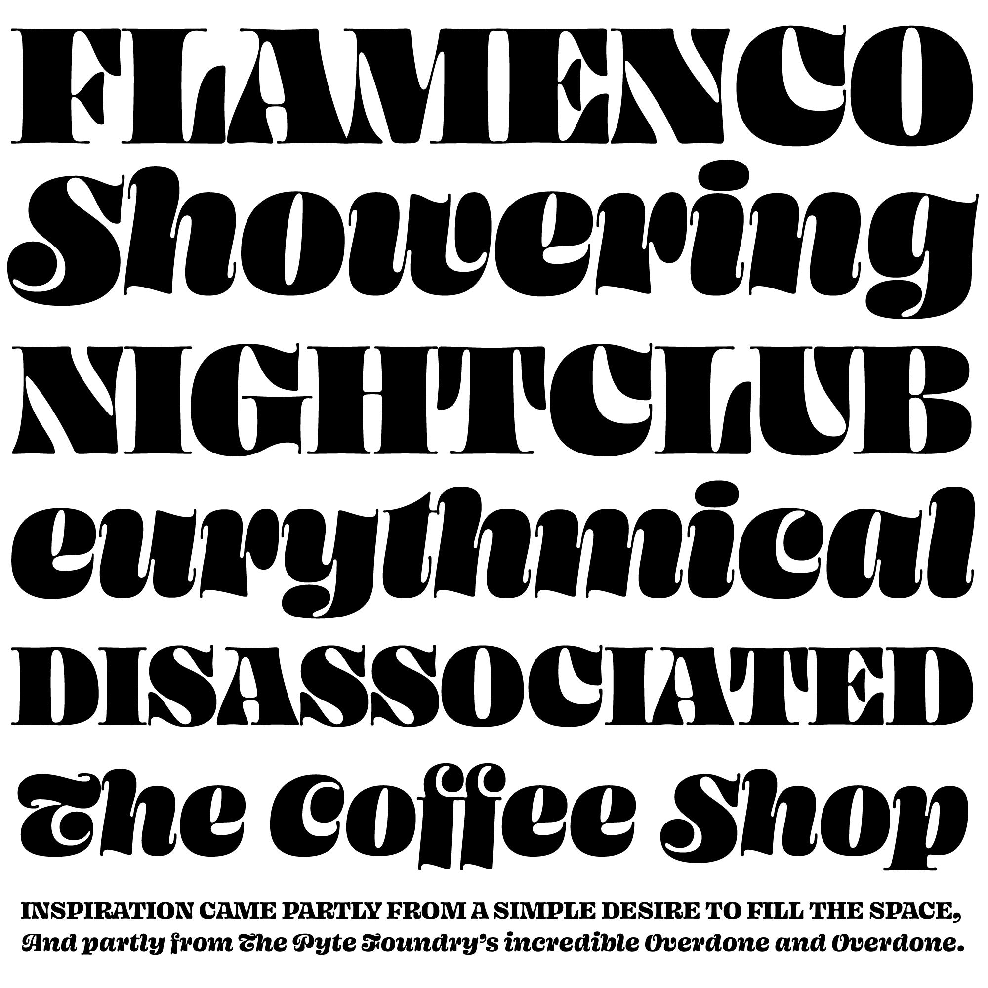 Ohno Blazeface fonts