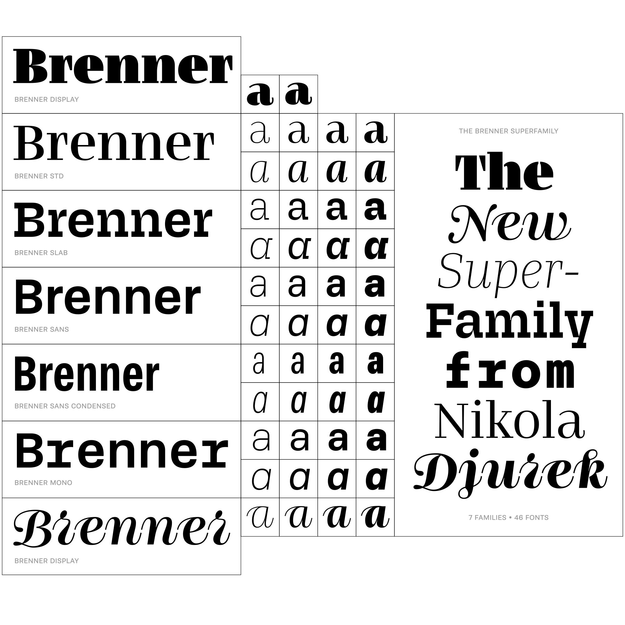 specimen of Brenner family