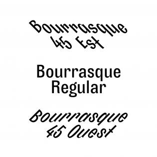 Bourrasque styles