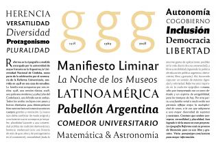 Reforma font specimen