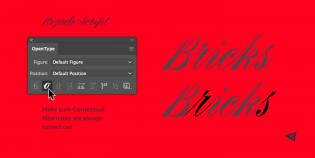 Rizado Script features