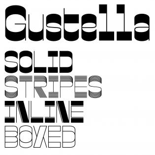 Gustella fonts