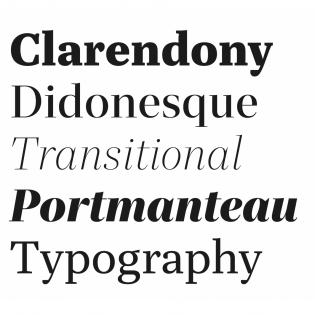 Quinn fonts specimen