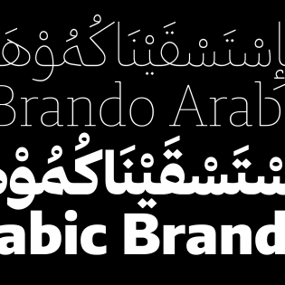 Brando Arabic and Latin