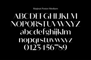 Magnat glyph set