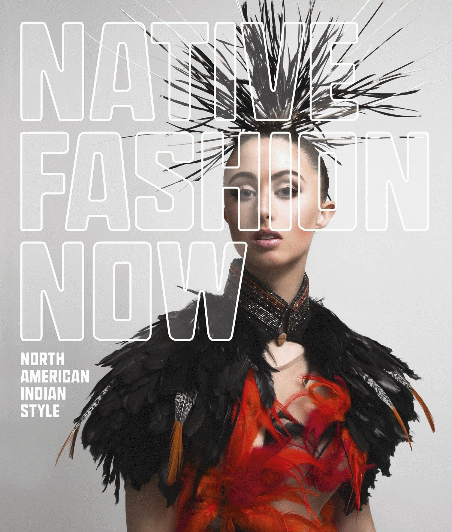 Cover of the magazine Native Fashion Now.