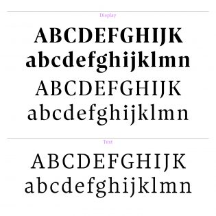 Optique Latin Display & Text