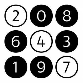 Roba index numerals